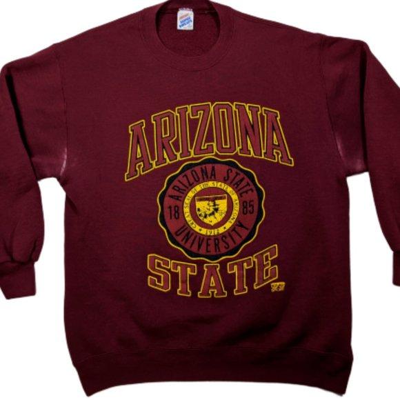 Jerzees Other - Vintage Arizona State University Crewneck Sz: XL